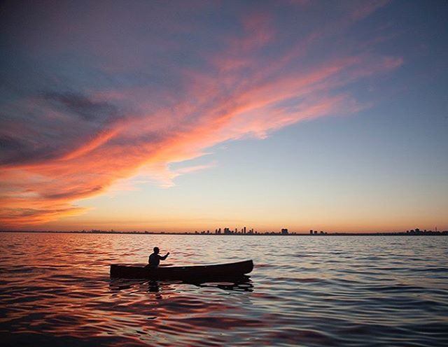Would you believe this was taken in North America's fourth largest city? #canoeing #PaddleON #toronto #torontoislands #canon5dmarkiii #ontario #getoutside