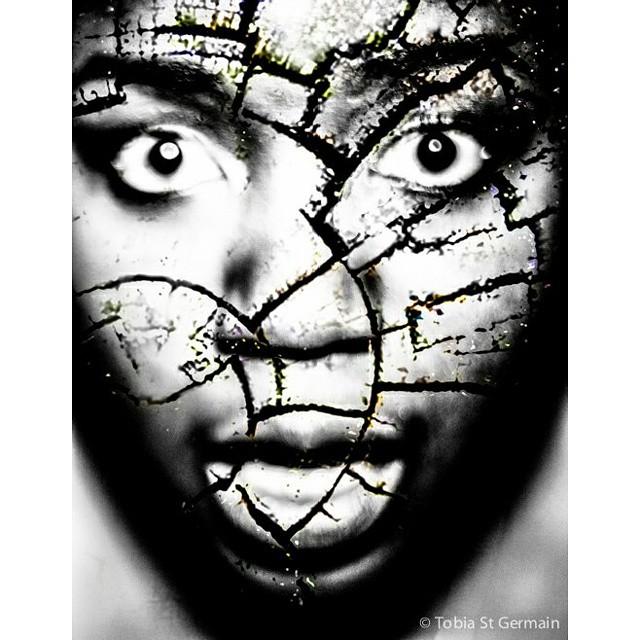 Closer to my Dreams  #cracks #face #portrait #bnw #blackandwhite #nikon #crownheights #edits #photoshop
