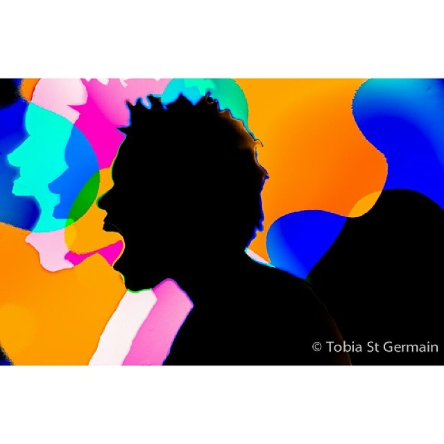 I didnt speak the English  #shadows #apple #ipod #popart #selfportrait #frustration #loss