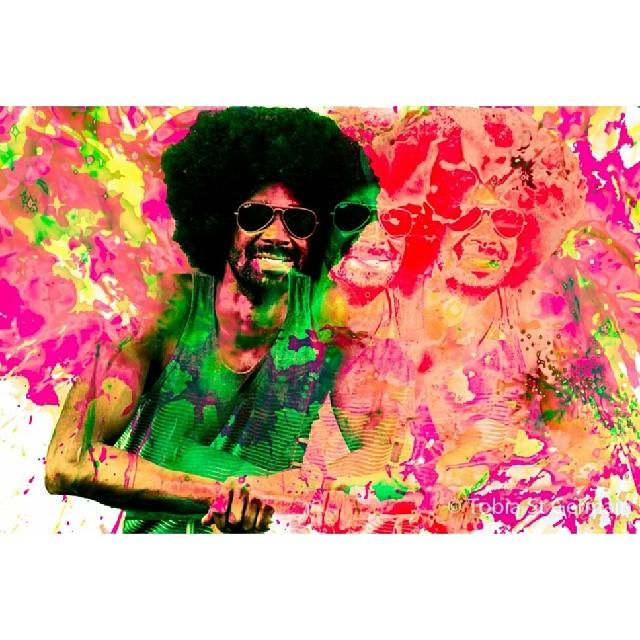 Vibration of Light Energy  #color #afropunk #brooklynart #nyc #festival #afro