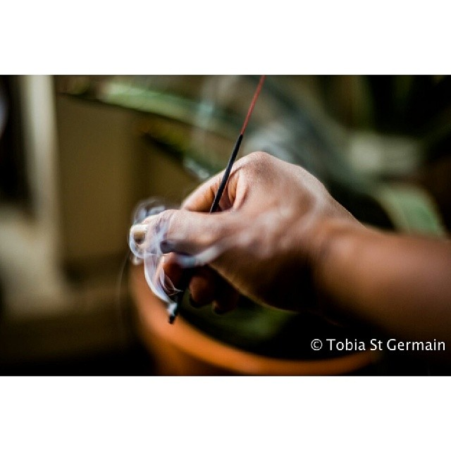 Challenge is to stay focused and motivated  #photography #hand #smoke