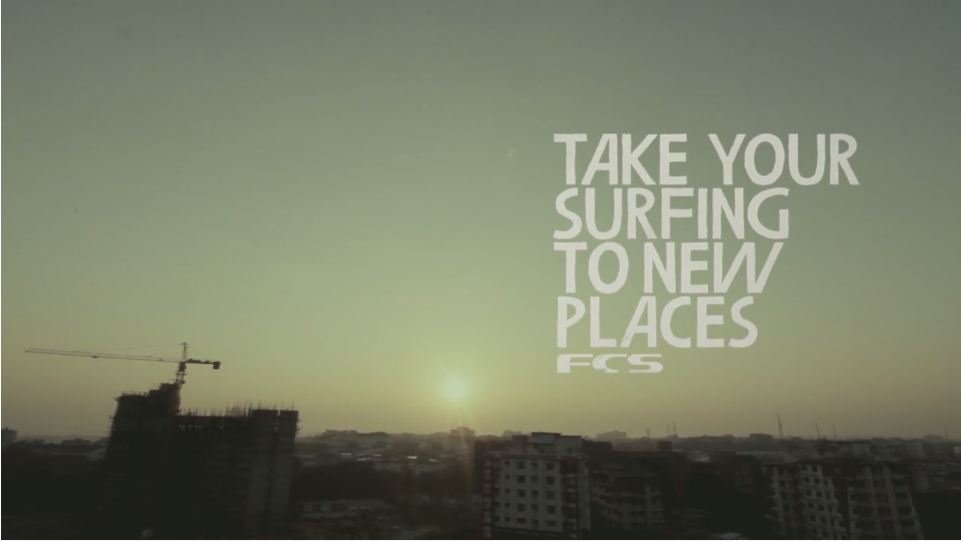 FCS - take your surfing to new places
