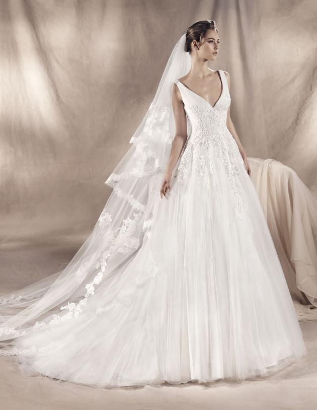 Pronovias - Tamara.jpg | Curvy Rose | Atlanta, GA | plus size bridal store