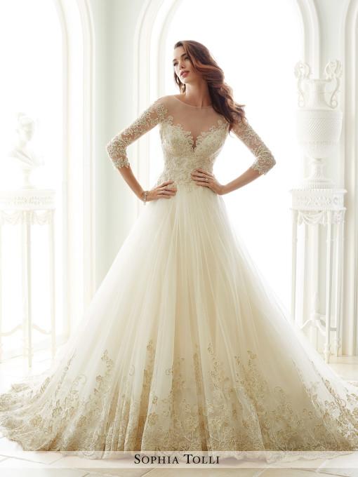 Sophia Tolli Andria | Curvy Rose | plus size bridal store