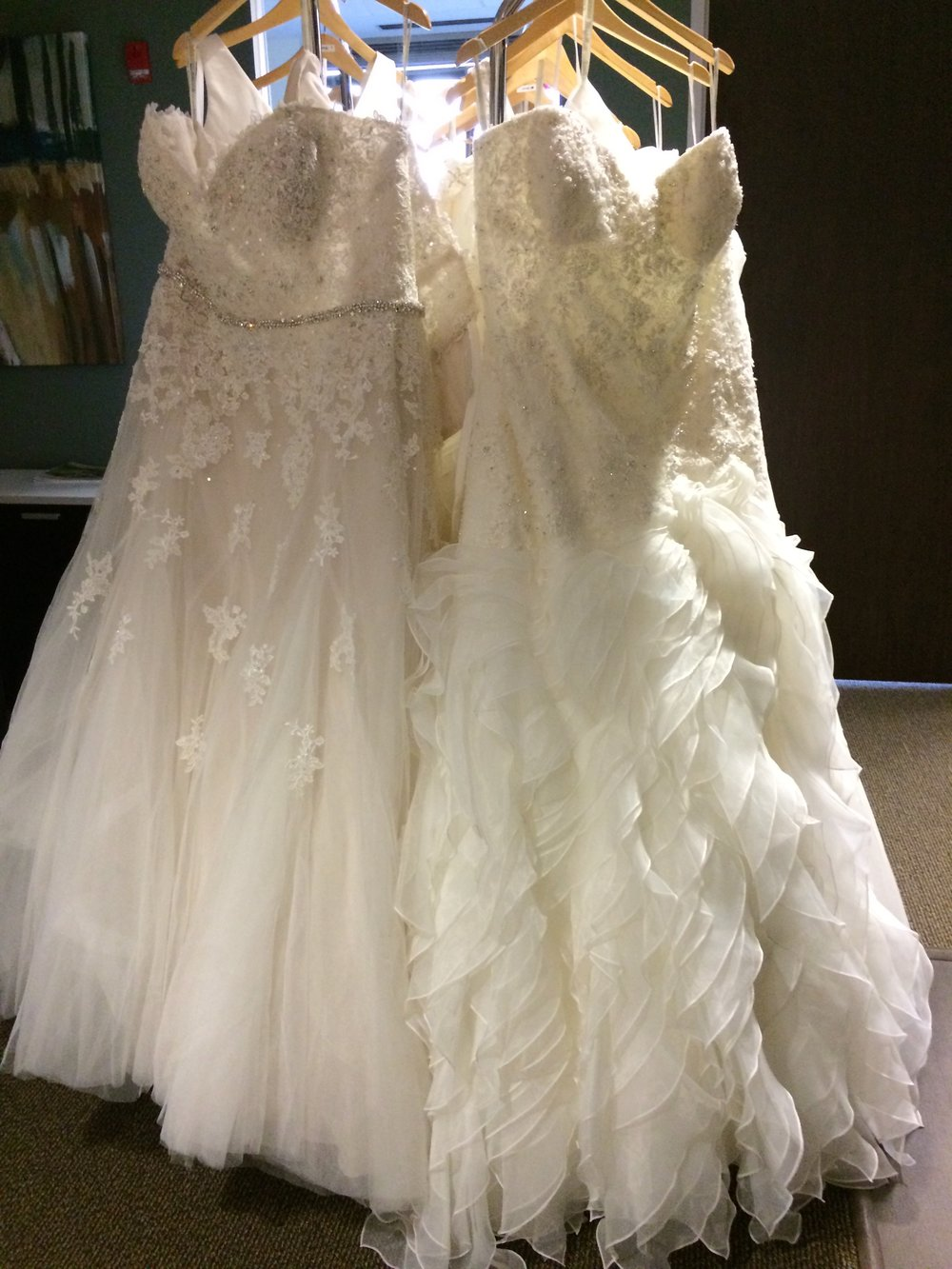 Just a few of our gorgeous bridal gowns.