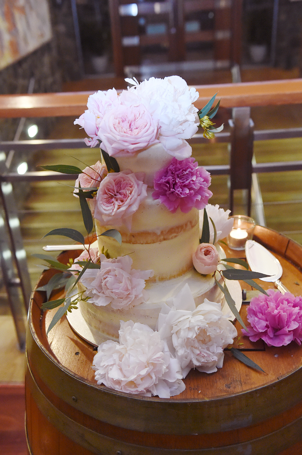 Vanilla Pod Wedding Cake Brisbane Barely Frosted.JPG