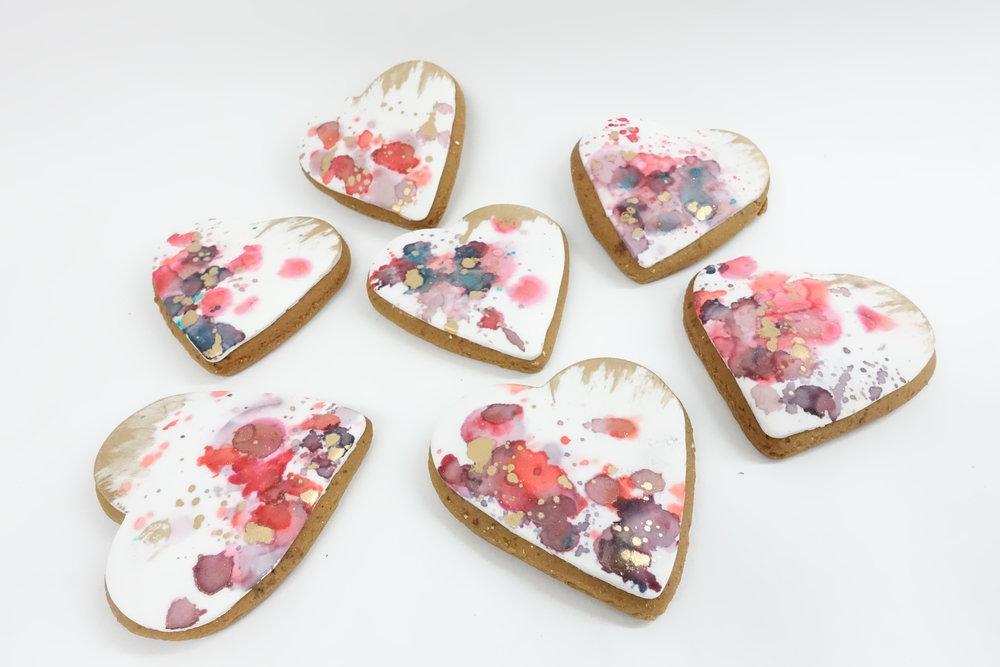 Vanilla Pod - Wedding Biscuit with water colour.JPG