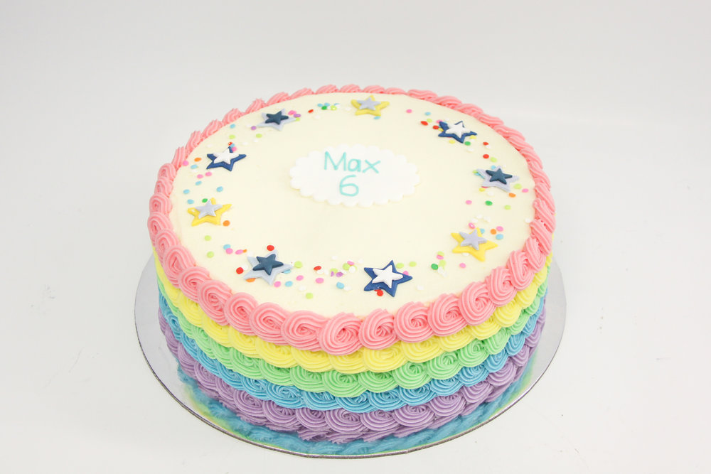 Vanillapodspecialtycakes Inside Out Rainbow Layer Cake