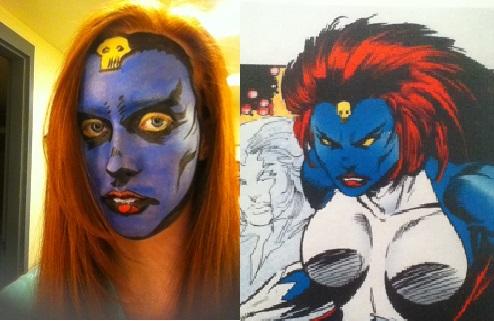 Original X-Men Comic-Mystique