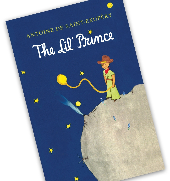 The Little Prince: Texas Edition - My best friend collects translations of the book The Little Prince from her friends all over the world and I wanted to give her one too but I'm American and she already had an English version. Luckily, I'm also a Texan so I decided to create for her a 'Texas Edition' as a wedding gift. Before this project I'd never used watercolors or even read the book but I ended up repainting and rewriting almost everything in order to add in as many Texas references as possible. The end result was The Lil' Prince and a very happy best friend.