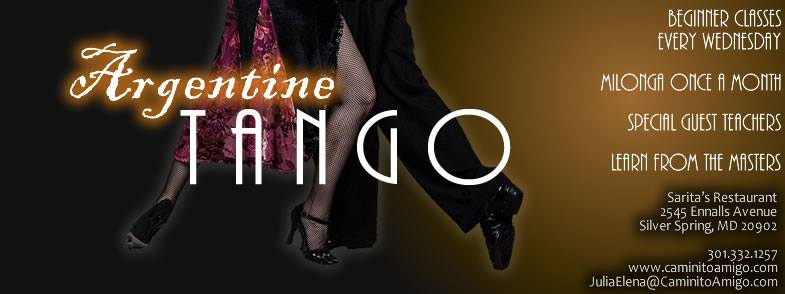 Argentine Tango | Beginner Classes Every Wednesday | Milonga Once a Month | Special Guest Teachers | Learn From the Masters
