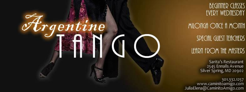 Enjoy Argentine Tango Every Wednesday!