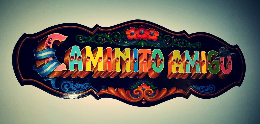 caminito amigo sign on the wall.jpg