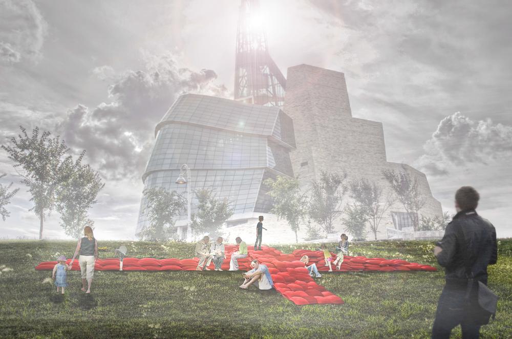 BIG RED by OPEN Design Collaborative + Mark Bauche