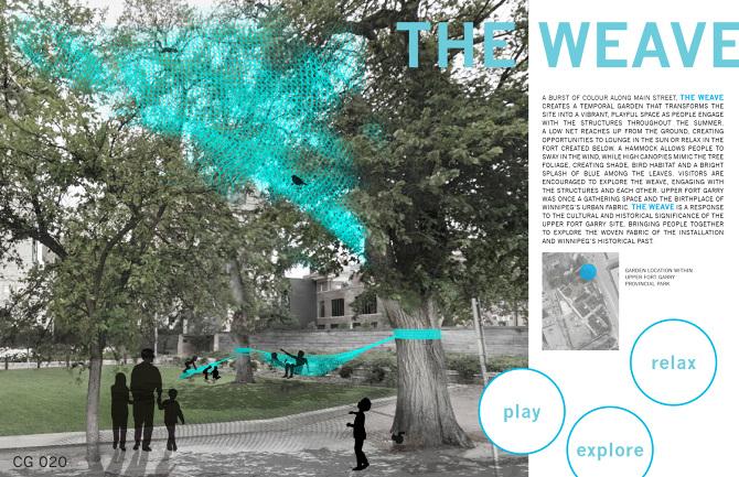 2. The Weave by Rachelle Kirouac + Danielle Loeb