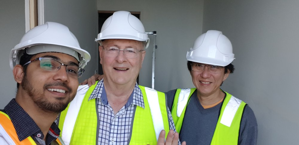 BSE Victorian team: Ale Rizvi, David Fairbank and Huey Liew