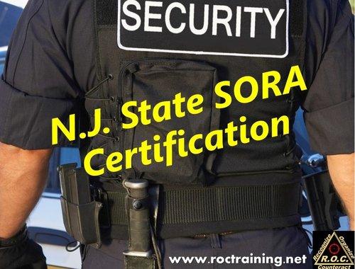 New Jeresy State SORA Certification — R.O.C. Training