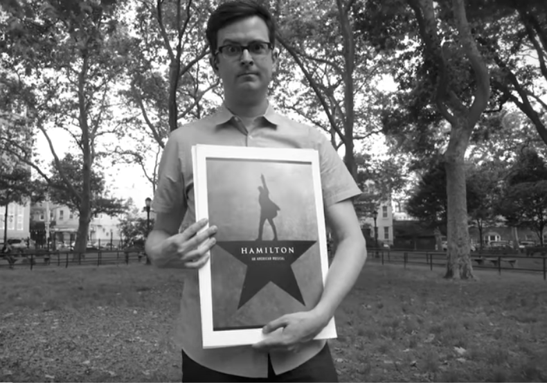 Huffington Post - This Guy Performs 'Hamilton' While Impersonating 14 Different Celebrities