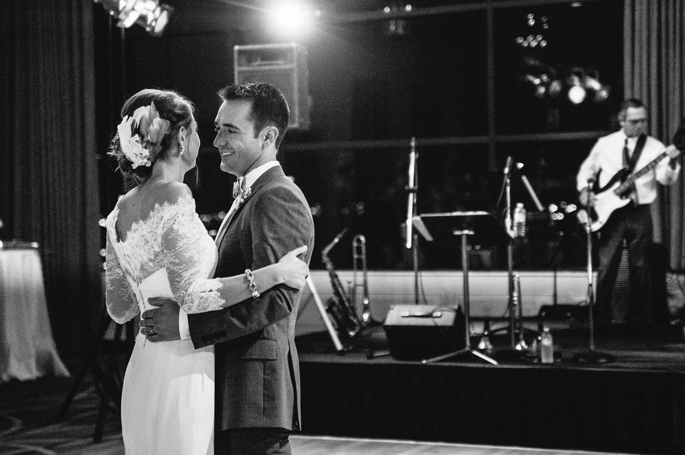 first dance at Hutton Hotel reception, Nashville, TN