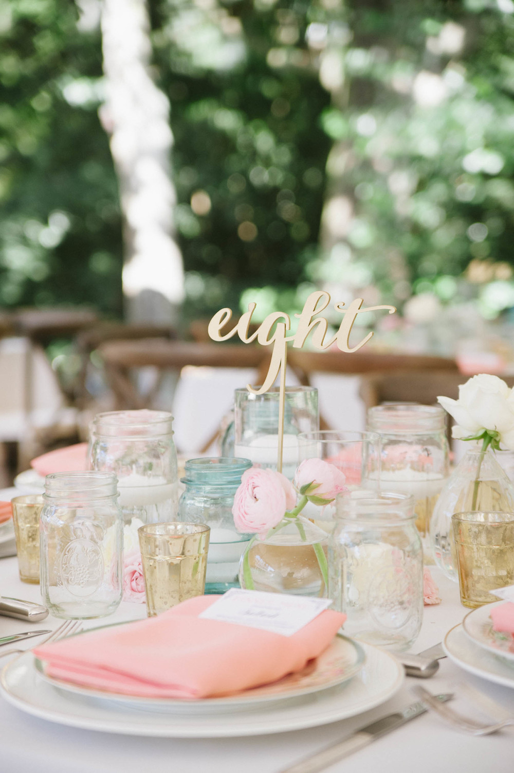 Charleston outdoor reception by OOH Events