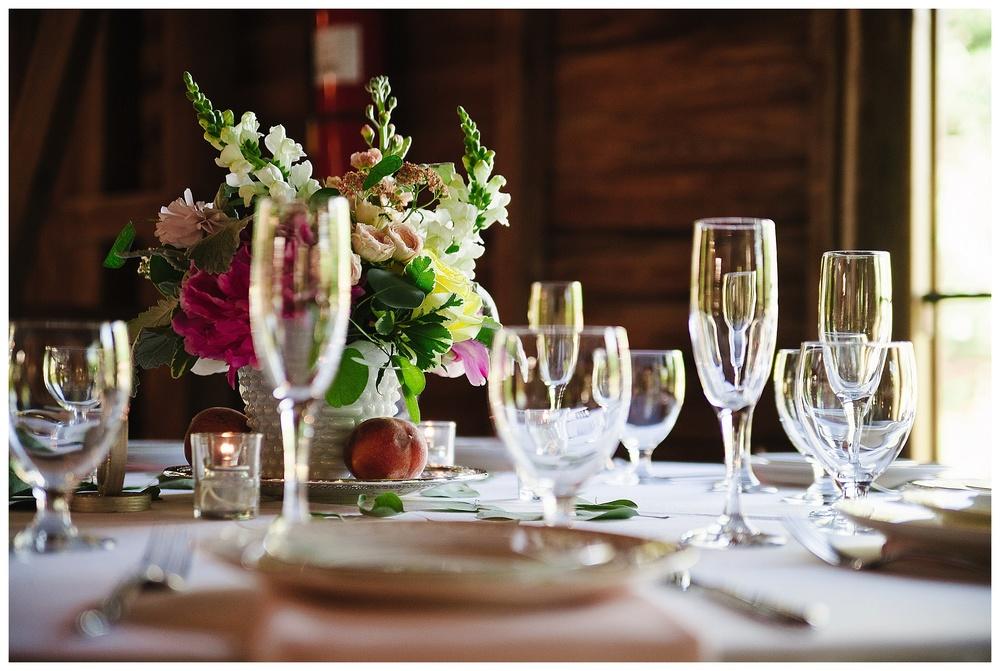 Steele Crest Wedding reception photos