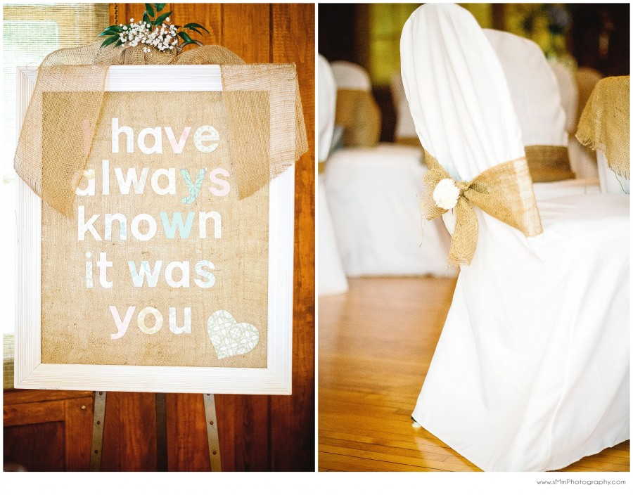 I have always known it was you wedding sign