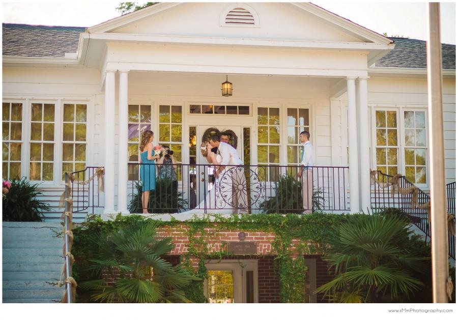 wedding ceremony at Lawton Park Pavilion