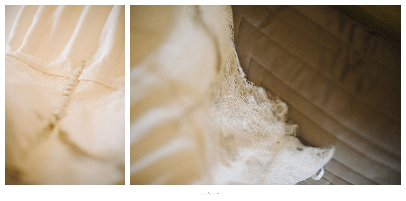 custom made wedding dress lace details