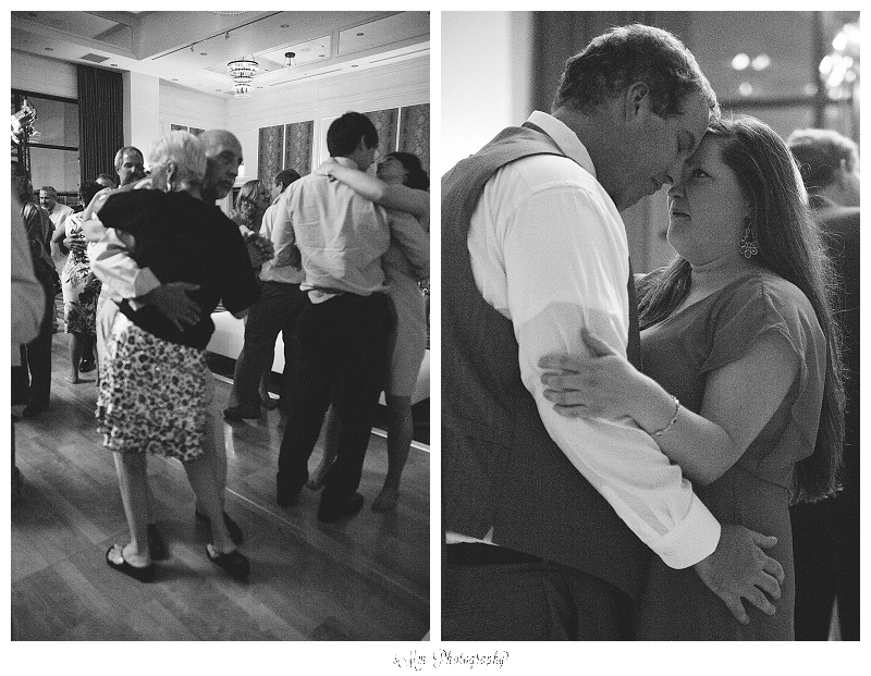 dancing at hutton hotel wedding