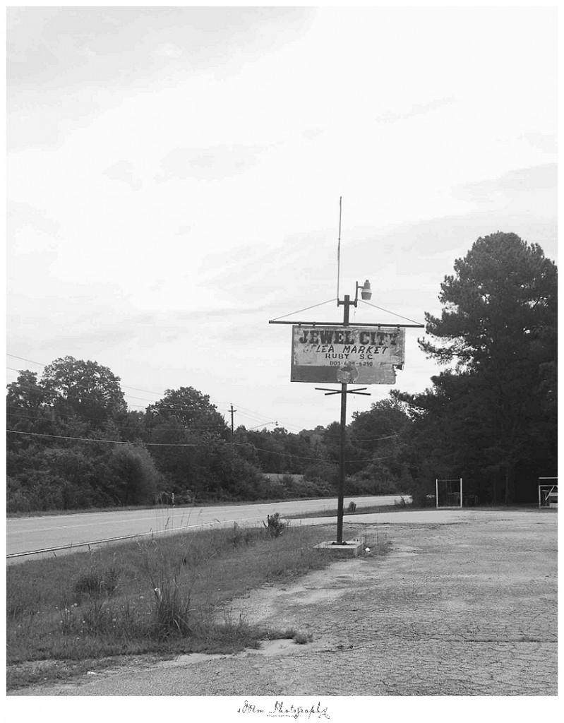 Ruby SC road sign, roadtrip SC HWY 9