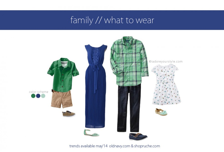 What-to-Wear for Charleston Summer Family Photos