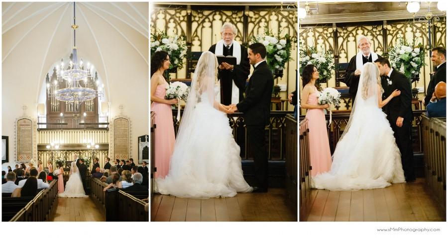 Charleston French Huguenot Church Wedding