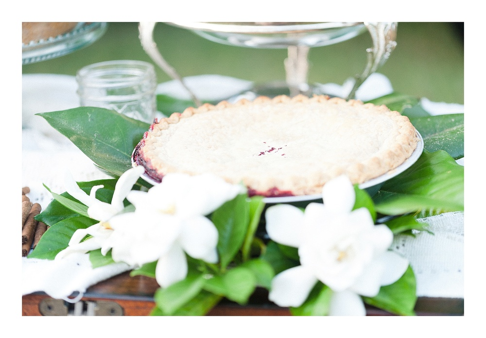 Charlotte wedding photographer captures homemade pie commercial photos for Southern Smokes Cigars