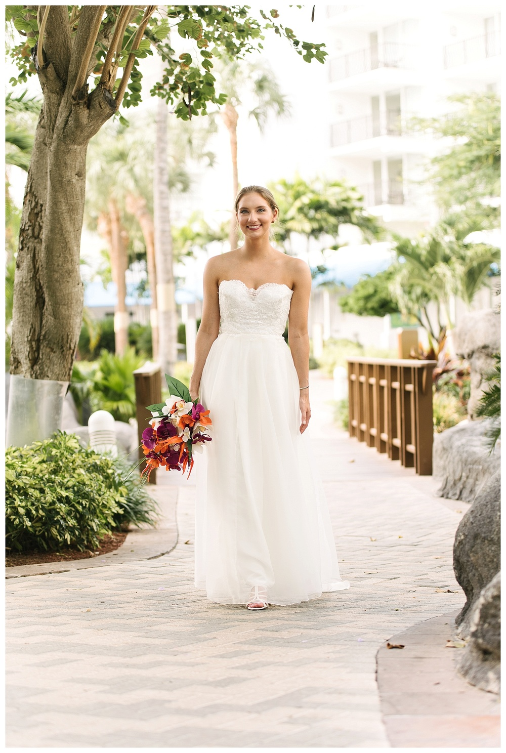Bridal portrait at Aruba Marriott Resort