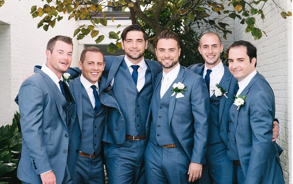 groomsmen at daniel island club charleston sc