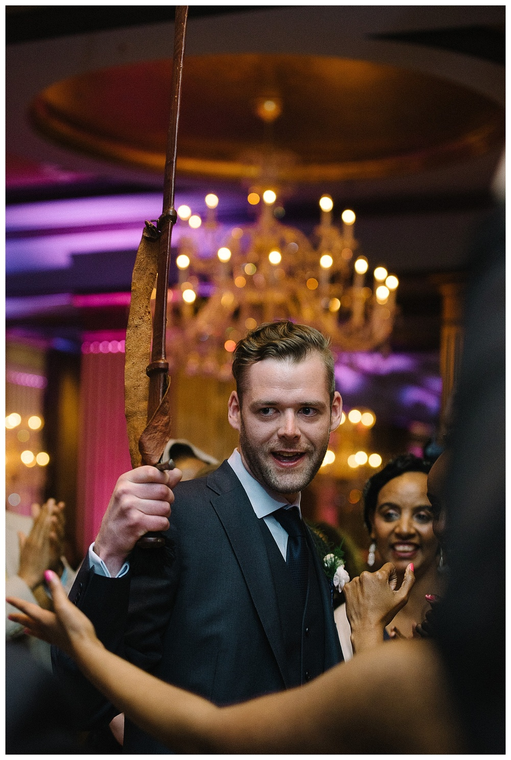 luxury ethiopian wedding reception at Mansion Forsyth