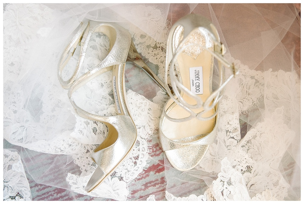 bridal shoes at Mansion Forsyth Park wedding