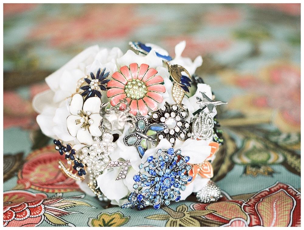 Destination wedding by film wedding photographer - Intimate Lake-side South Carolina destination wedding