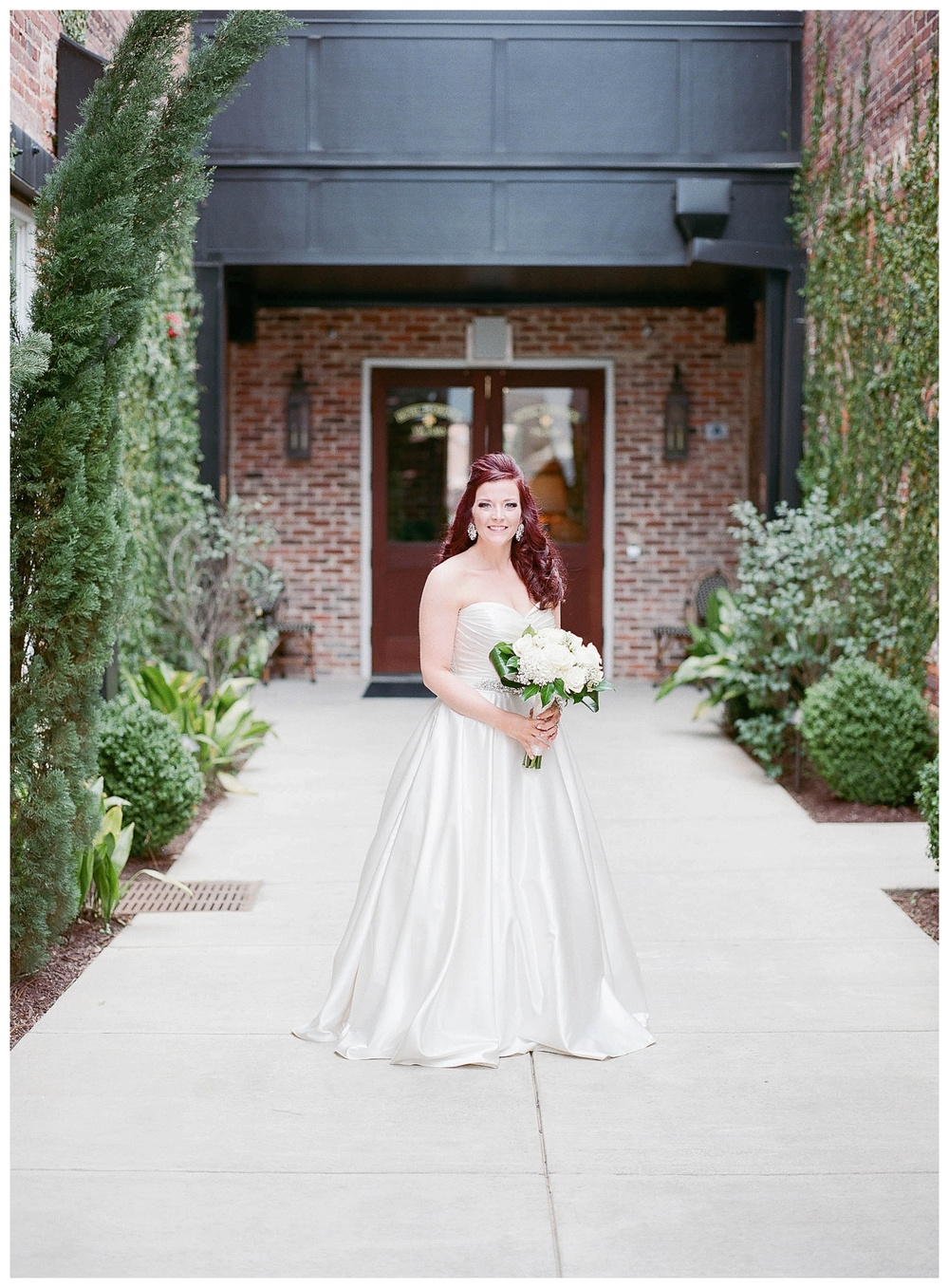 Bridal Portrait for wedding at Hotel Florence, SC