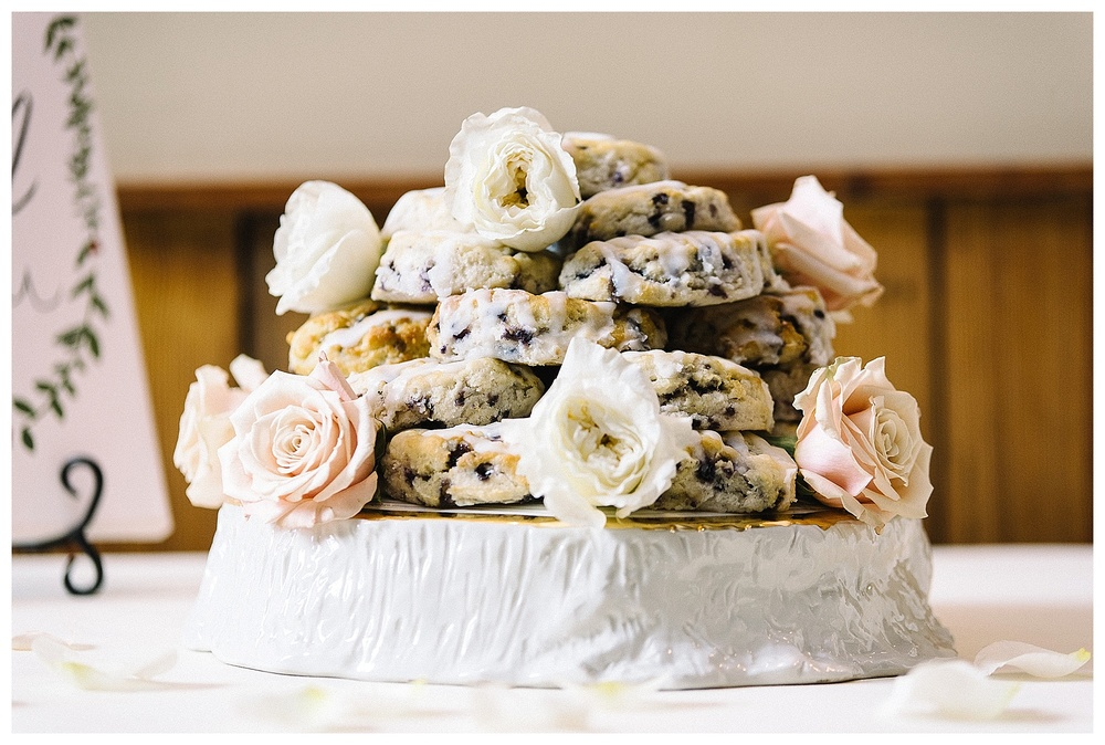 Bojangles BoBerry Biscuit Wedding Cake
