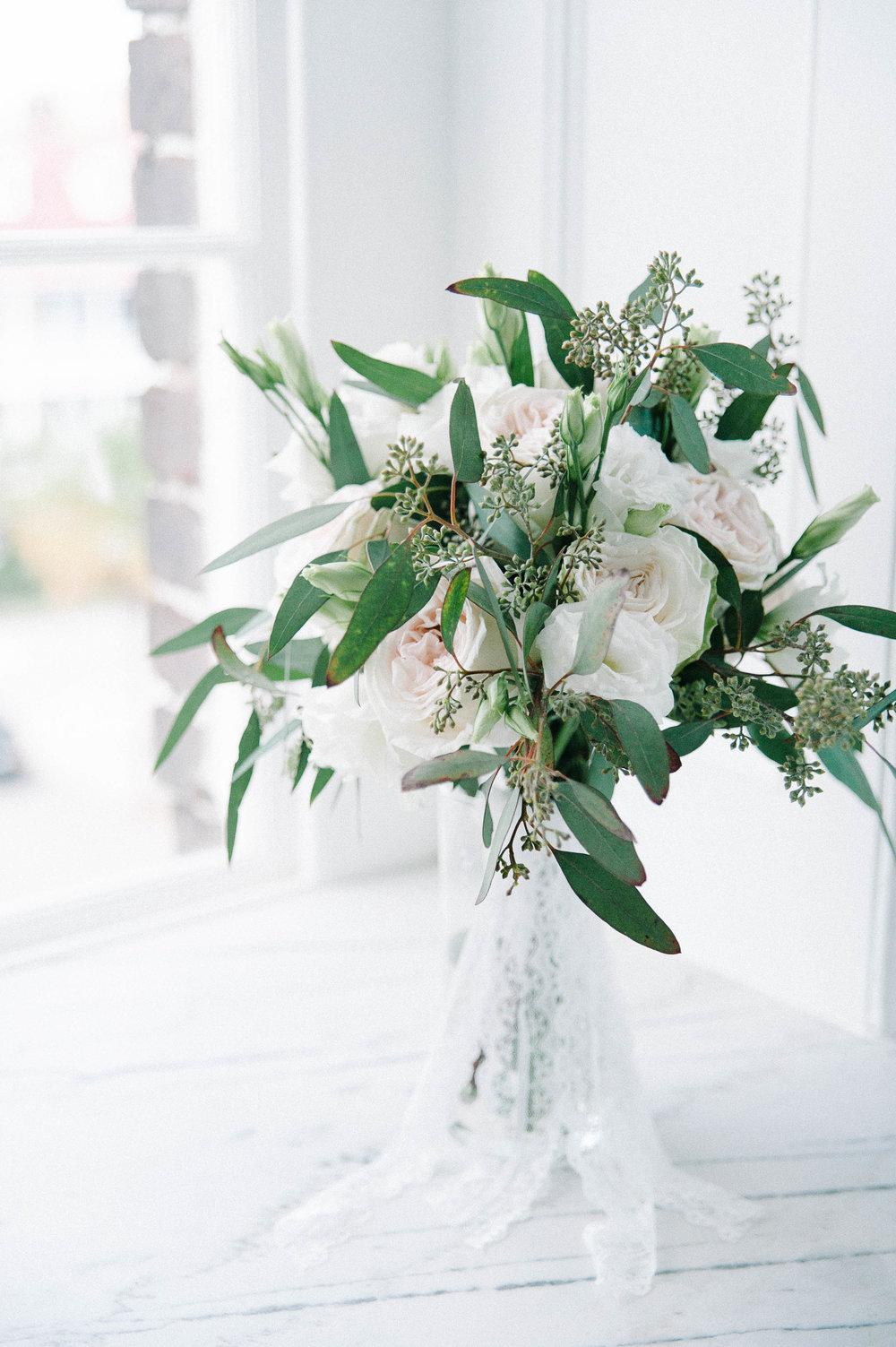 Gadsden House Wedding bouquet, Charleston, SC
