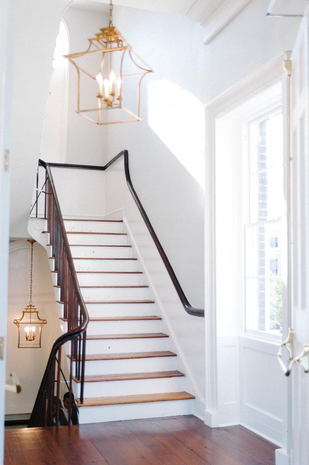 Gadsden House stairwell, Charleston, SC