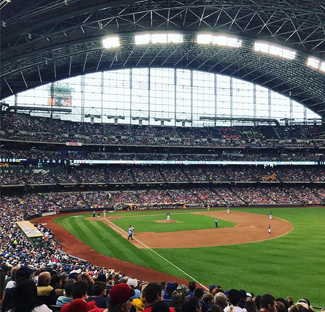 Happy opening day @brewers! We can't wait to see you win on July 30th for our annual company outing!! ⚾️