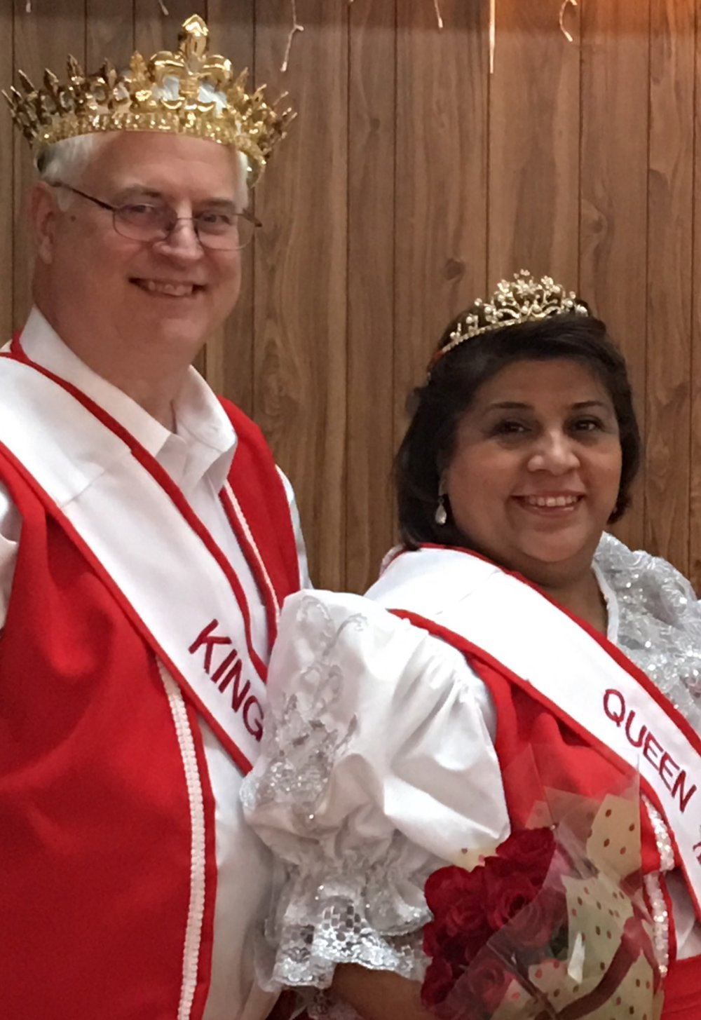 Stanley and Betty Nemec of Temple were crowned  P.o.L.K. of A Texas Chapter 1 as 2017 King and Queen recently.