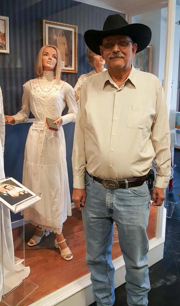 Ronnie Macek found his grandmother's wedding dress.