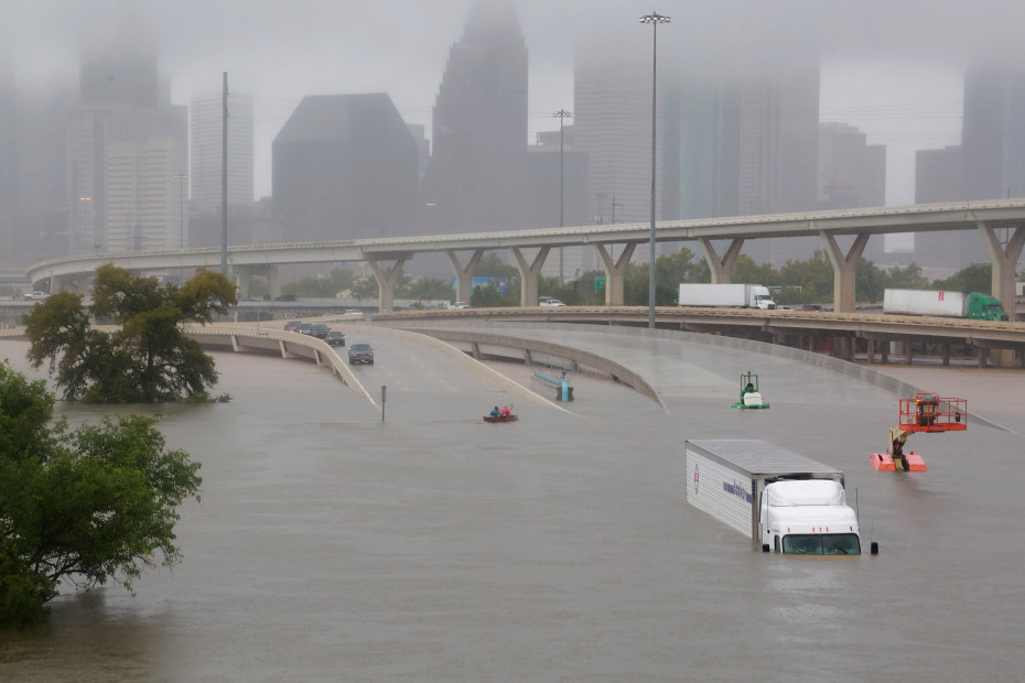 Houston after Hurricane Harvey