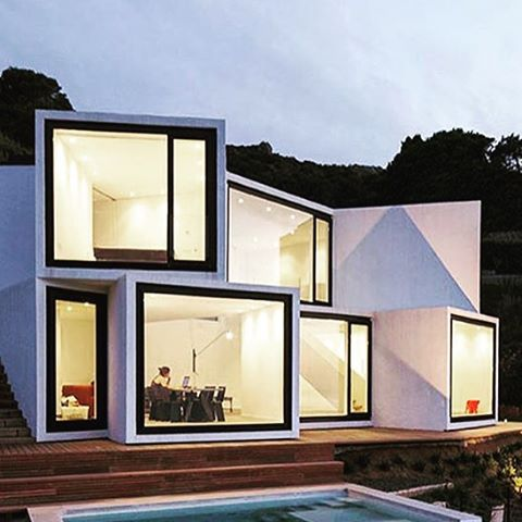 The Sunflower House #girona #spain #architecture #dreamoffice #travel #modern #eco #design #coolfactor