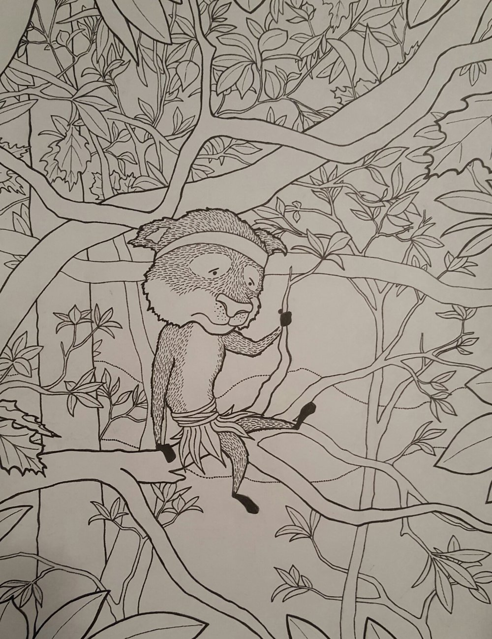 These Leaves Took Forever to Draw