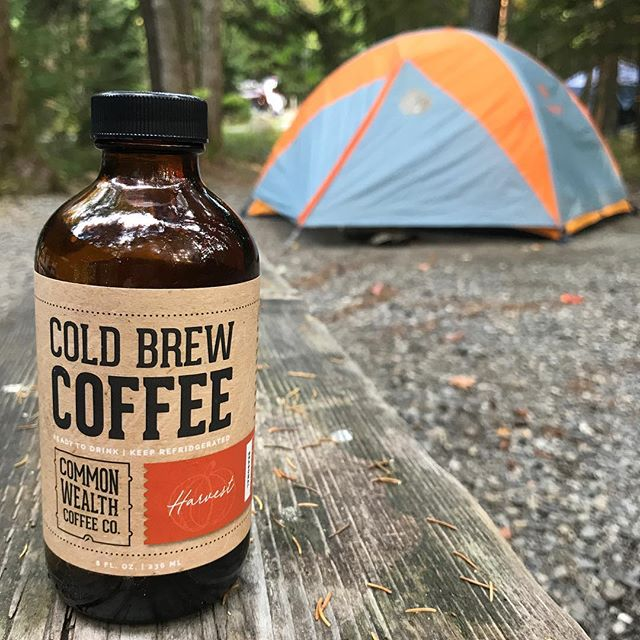 It's Harvest Season!  Our unsweetened, spiced fall seasonal with cinnamon and nutmeg.  Where will you take us this fall?! 🍁🍂🏕