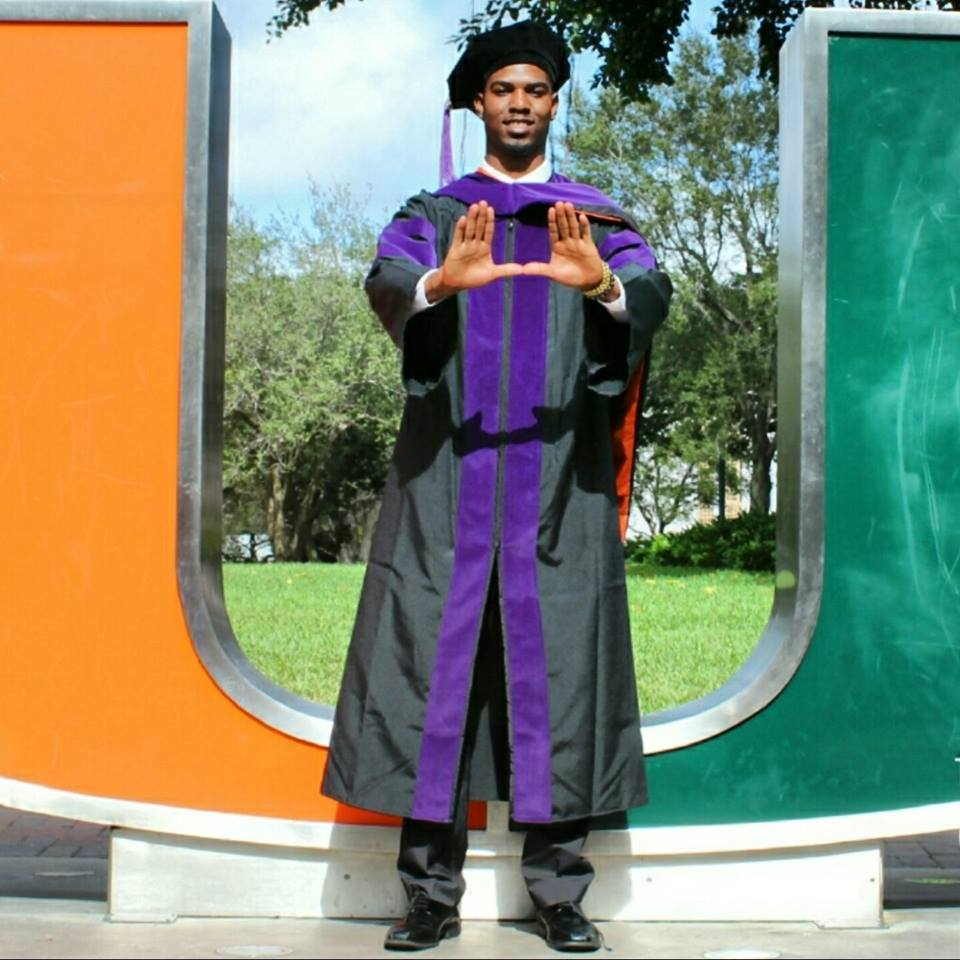 Lukendric Washington at University of Miami!